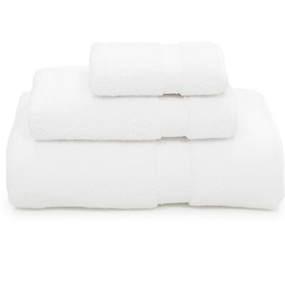 Toscano 3 Piece Towel Set Color: White