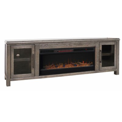 Cloyne 86 TV Stand Elecrtic Fireplace