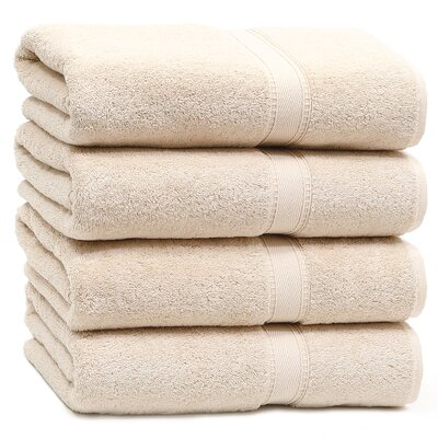 Toscano Bath Towel Color: Beige