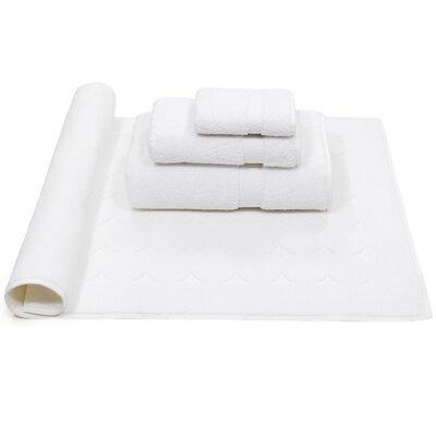 Toscano 4 Piece Towel Set Color: White