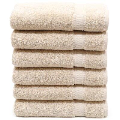 Toscano Hand Towel Color: Beige