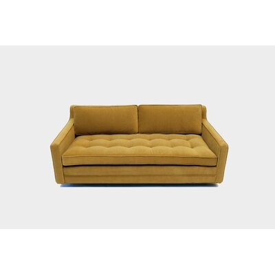 2 Seater Sofa Upholstery: Denim Velvet
