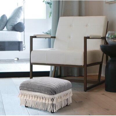 Maysville Ottoman Upholstery: Ash