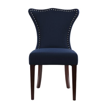 Auston Parson Chair Upholstery: Midnight Blue