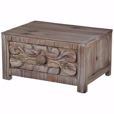 "Bordelon Utterly Fir Wood Tabletop 16"" W Storage Drawer 8C50BE5960594B3BABAB97135C427316"