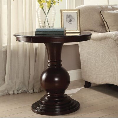 Hagedorn End Table Table Top Color: Brown