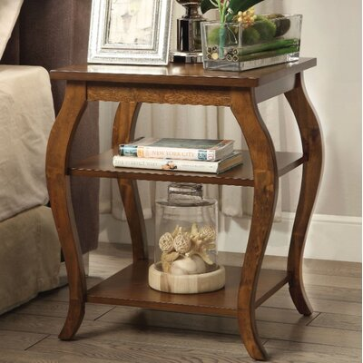 Fosdick End Table Table Top Color: Brown