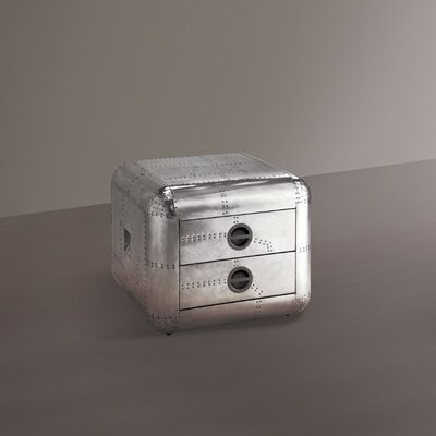 Croxton 2 Drawer Nightstand