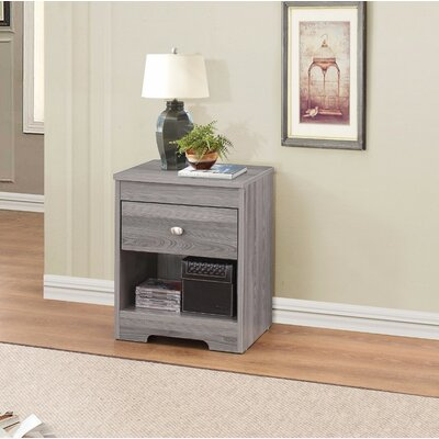 Kuske 1 Drawer Nightstand
