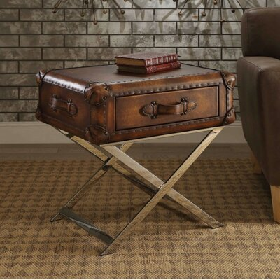 Chism 1 Drawer Nightstand Color: Brown