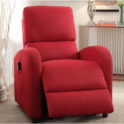 Wolford Power Lift Assist Recliner Upholstery Color: Red