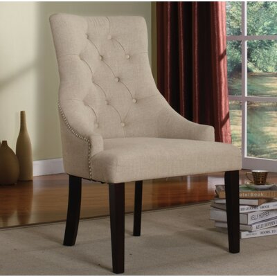 Azurine 2 Piece Armchair Set Upholstery Color: Cream