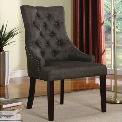 Azurine 2 Piece Armchair Set Upholstery Color: Gray