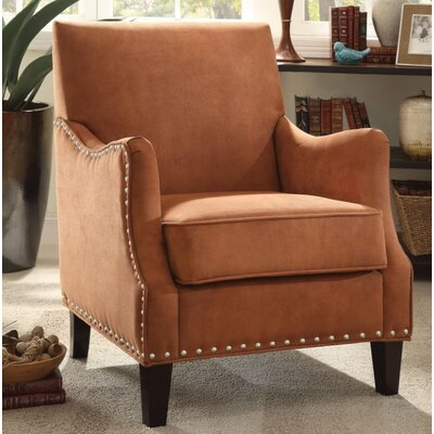 Sykesville Arm Chair Upholstery Color: Orange