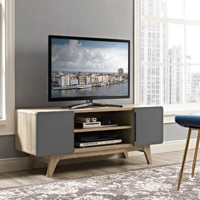 Colbin 47 TV Stand Color: Natural-Gray