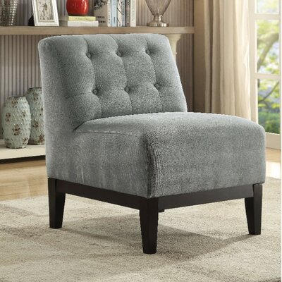 Batie Slipper Chair Upholstery Color: Gray