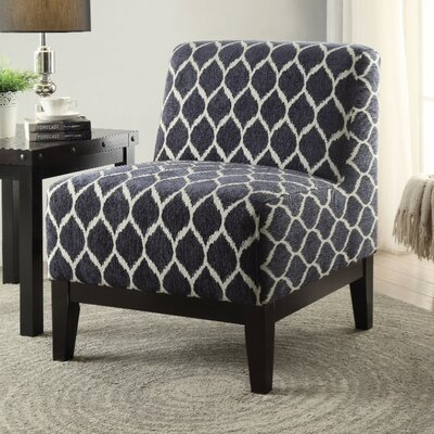 Bator Slipper Chair Upholstery Color: Blue