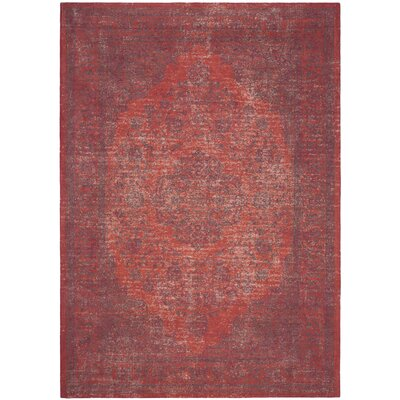Thompson La Foa Red Area Rug Rug Size: Rectangle 8 x 11
