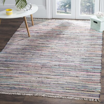 Wilcox Fairview Hand-Woven Gray Area Rug Rug Size: Rectangle 5 x 8