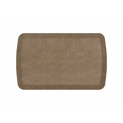 Basics Anti-Fatigue Kitchen Mat Color: Camel