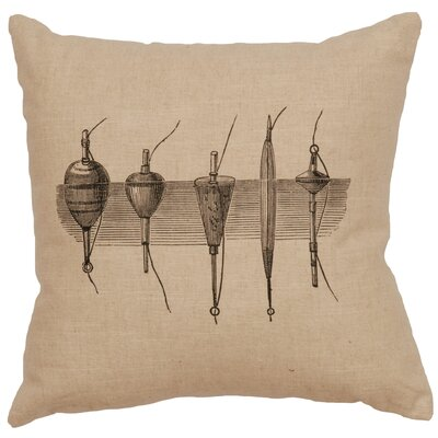 Nadler Throw Pillow Color: Natural