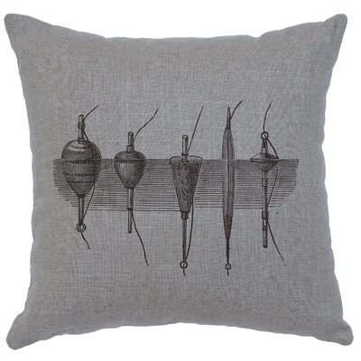Nadler Throw Pillow Color: Gray