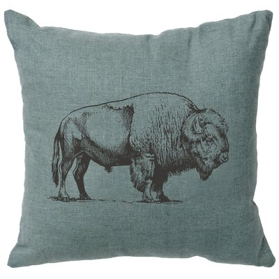 Lanphear Buffalo Throw Pillow Color: Ocean