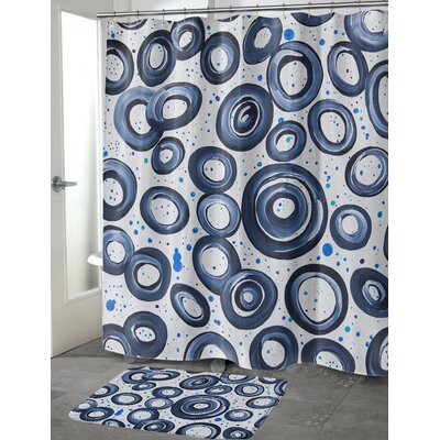 Cosper Shower Curtain Size: 70 H x 90 W