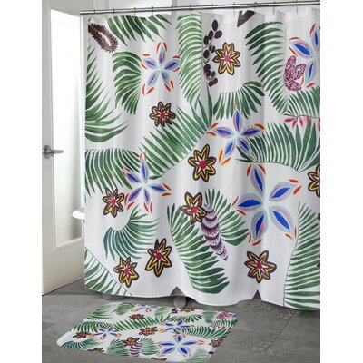 Oberlin Palm Special Shower Curtain Size: 70 H x 72 W