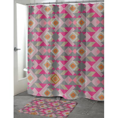 Chihuahua Shower Curtain Size: 70 H x 90 W