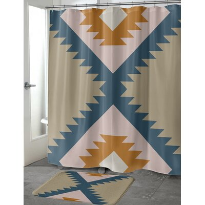 Levering Shower Curtain Size: 70 H x 90 W
