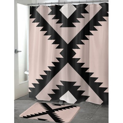 Liddle Shower Curtain Size: 70 H x 72 W