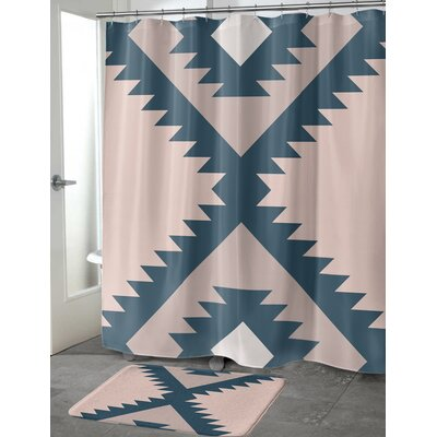 Lietz Shower Curtain Size: 70 H x 90 W