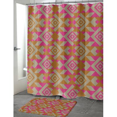 Levey Shower Curtain Size: 70 H x 90 W