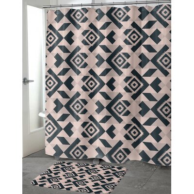 Levi Shower Curtain Size: 70 H x 72 W