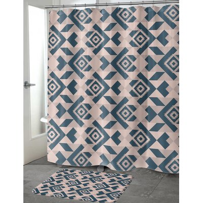 Levick Shower Curtain Size: 70 H x 90 W