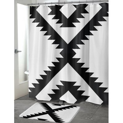 Liggins Shower Curtain Size: 70 H x 72 W