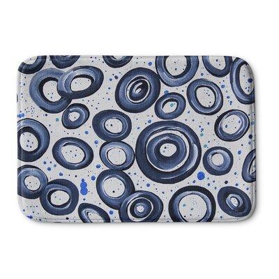 Dhudam Memory Foam Bath Rug Size: 17 W x 24 L