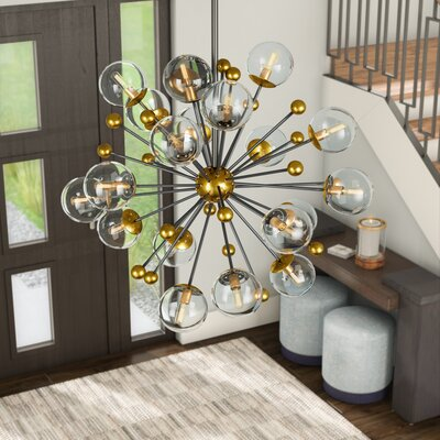 Nancy 20-Light Sputnik Chandelier