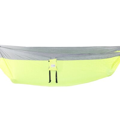 Compact Portable Double Camping Hammock Color: Lime Green 818161021624