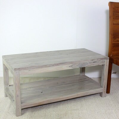 Lawless Teak Coffee Table Finish: Gray