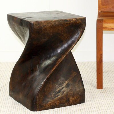 Lawlor Big Twist End Table Color: Mocha