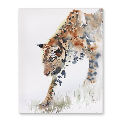 'Stealthy Leopard' Print on Canvas 08D68F2EF4E1436CB604A350EF362E73