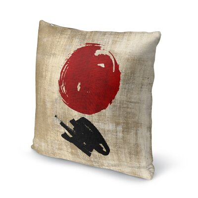 Eger Throw Pillow Size: 16 x 16