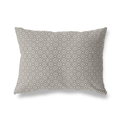 Liam Throw Pillow Color: White/Black, Size: 18 x 24