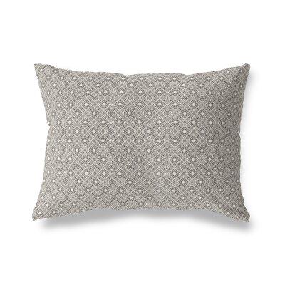 Liam Throw Pillow Color: White/Black, Size: 12 x 16