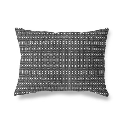 Liberty Hill Throw Pillow Color: White/Black, Size: 18 x 24