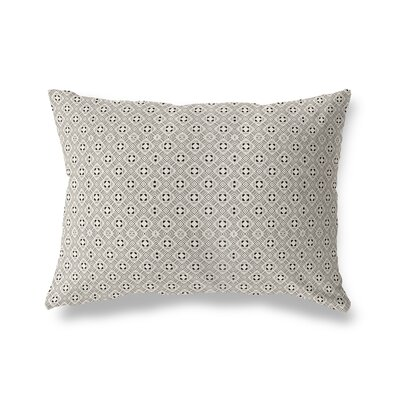 Liberty Street Throw Pillow Color: Black/Tan, Size: 12 x 16