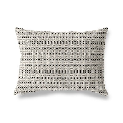 Liberty Hill Throw Pillow Color: Black/Tan, Size: 18 x 24