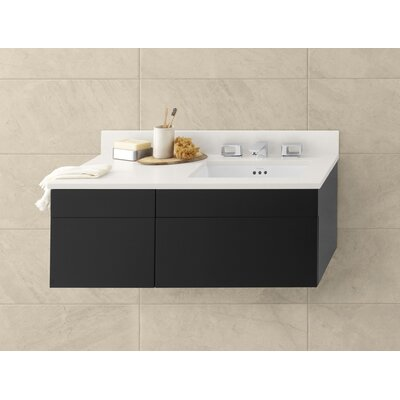 Rebecca Wall Mount Drawer Bridge 18 Single Bathroom Vanity Base